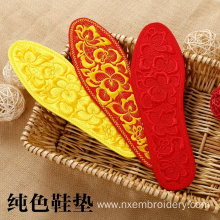 China for Embroiderd Bedding Hand Embroidered Shoe-pad Insole supply to France Metropolitan Manufacturer